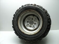 Yamaha YFM400 YFM 400 Kodiak 4x4 #5057 Left Rear Wheel & Tire