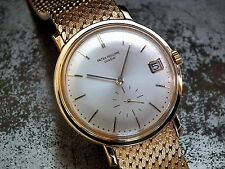 1969 Solid 18ct Gold Automatic Patek Philippe 3445 Gents Vintage Watch