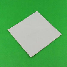 White 100mm x 1MM CPU SMD DIP IC Chip GPU Paste Thermal Conductive Silicone Pad