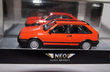 VW POLO g40 ROSSO 1:43 Neo NUOVO & OVP 45795