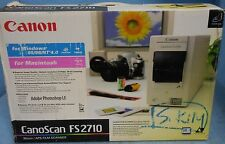 USED CANON CanoScan FS2710 SCANNER 35mm / APS Film Scanner