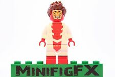 Lego IMPULSE Custom Minifig DC Super Hero Bart Allen Young Justice League Flash