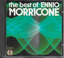 ENNIO MORRICONE - The Best of CD Album 14TR West Germany 1984 (RCA)