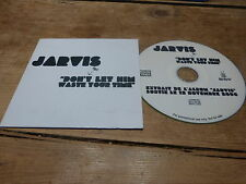 PULP - JARVIS COCKER - DON'T LET HIM WASTE YOUR TIME MEGA RARE FRENCH PROMO CD !