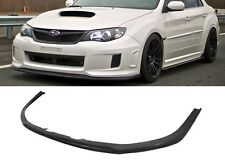 CS FRONT BUMPER LIP PROTECTOR SPOILER POLY BODY KIT FOR 11-14 IMPREZA WRX STI