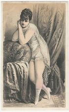 Female Acrobat - The Great Latour Leap for Life Victorian Trade Card