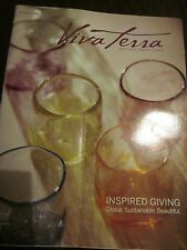VIVA TERRA HOLIDAY 2015 CATALOG INSPIRED GIVING INSPIRED GREEN LIVING BRAND NEW