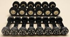 NEW 70 pc Lego Wheels Vehicle Parts Car Truck Tires & Rim Sets LOT