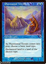 MTG - Invasion - Phantasmal Terrain - 2X - Foil - NM