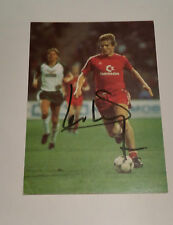 "Soren Lerby signed autograph 6""x4"" photo Bayern Munich"