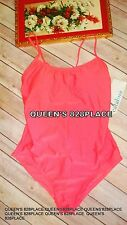 Nwt Catalina Womens Size M 8-10 Coral Pink One-Piece Swimsuit Bathingsuit New