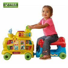 VTECH TEACHING TRAIN SIT-TO-STAND Toy Baby Toddler Walking Child Ride On NEW!