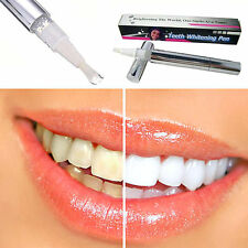 2 TEETH WHITENING GEL PEN TOOTH CLEANING DENTAL KIT