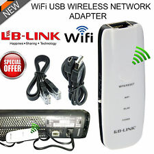 New USB Wireless Network Adapter for Xbox 360 Live Console PS3 Smart TV UK Store