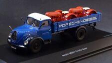 """Magirus S6500 """"Porsche Diesel"""" Tractors Truck Diecast Model 1/43 Schuco"""