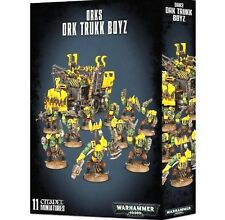 ARMOURED ASSAULT SET: ORKS ORK TRUKK BOYZ GW-Games Workshop Warhammer 40K-40,000