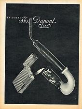 PUBLICITE ADVERTISING 124  1956  DUPONT  briquets