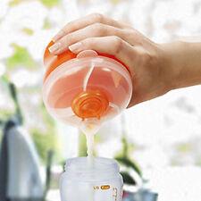 2 x Travel Baby Formula Milk Powder Dispenser/Container/Holder Storage Pot