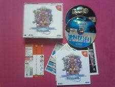 Phantasy Star Online + spin card Sega DreamCast  - complet -JAP