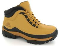 NEW MENS SAND WORK SAFETY STEEL TOE TRAINER HIKING BOOT SIZE 6 7 8 9 10 11 12 13