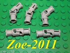 Lego Technic Universal Joints Light Bluish Grey 3 Studs Long 5 pieces NEW!!!