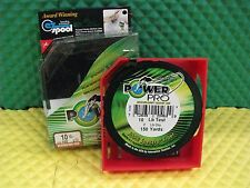 Power Pro Microfilament Braided Fishing Line 10 lb. 150 yds. Vermilion Red
