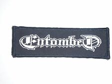 ENTOMBED DEATH METAL WOVEN PATCH