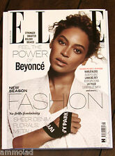 New British ELLE UK Magazine May 2016 Beyonce Ivy Park Jourdan Kloss Del Rey