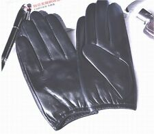 New Men's Police Tactical Gloves,100% Real Black/Brown Leather Gloves