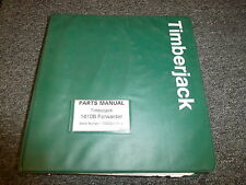 Timberjack 1410B Forwarder Skidder Logging Part Catalog Manual F060125