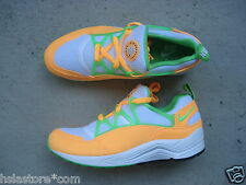 Nike Air Huarache Light 42.5 Atomic Mango/Action Green-White