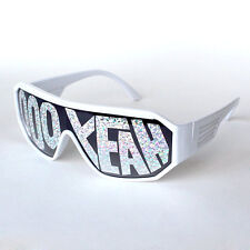 Macho Man Randy Savage Ooh Yeah White See Through Party Sunglasses
