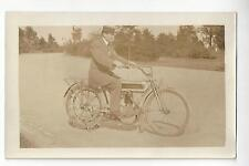 Excelsior Motorcycle RPPC