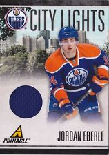 10-11 Pinnacle Jordan Eberle /499 Jersey City Lights Oilers 2010