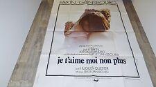 serge gainsbourg  jane birkin JE T'AIME MOI NON PLUS ! affiche cinema 1975