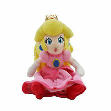 New Nintendo Super Mario Bros. Princess Peach Plush Doll Stuffed Animal Toy 8""