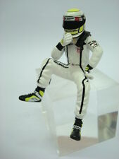 1/18 FIGURE REF 57E JANSON BUTTON F1 BRAWN WORLD CHAMPINS FIGURINO PILOTA DRIVER