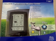 New AcuRite 01010W3 Professional Weather Center with 5 in 1 Wireless Sensor