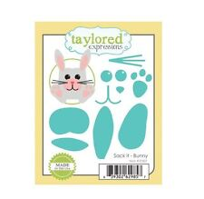 Taylored Expressions Cutting Die Set ~ SACK IT - BUNNY ~ Party Favor  ~TE307