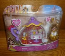 Disney Princess Little Kingdom BELLE Enchanted Dining Room Set SnapIns Mini Doll