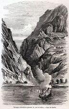 GARIBALDINI NELLA VALLE DI LEDRO.Lago di Garda.Tirolo.Trentino.Risorgimento.1866