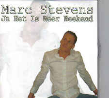 Marc Stevens-Ja Het Is Weer Weekend cd single