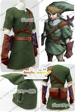 The Legend of Zelda Zelda Link Cosplay Costume Ver.2