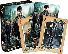 Harry Potter Deathly Hallows Pt 2 set of 52 playing cards (+ jokers) (nm 52422)