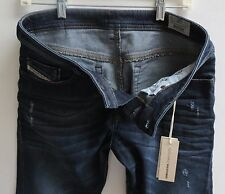 Diesel Buster Men Jeans 38 W x 32 Wash 842R Stretch Slim Tapered New with Tags