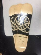 "Skateboard decks Hardcore blanks, 3 pcs,7.5"" x 32"", 7-ply  $9.99 each"