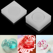 DIY Silicone Storage Box Mold Making Jewelry Resin Casting Mould Craft Tool