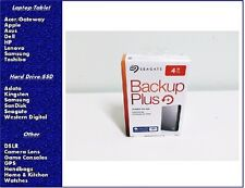 NEW Seagate Backup Plus 4TB Portable External Hard Drive STDR4000900, SEALED