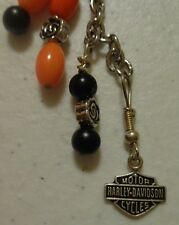 Silver 925 RARE Harley Davidson Charm on Key chain electra street tour glide FLH