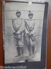 Vecchia foto d epoca fotografia antica soldati guardia PRIMA GUERRA MONDIALE con